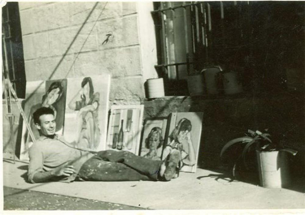 SCHINASI a Villa Frattini ANTIGNANO (Livorno )1959