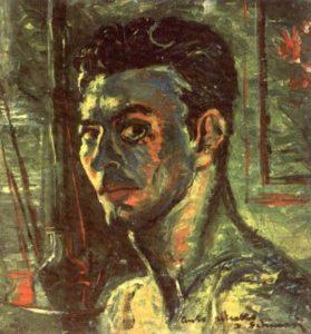 """""""Auto-portrait"""" 1956 - (Private Collection) - Price: $ 4,500,000.00"""