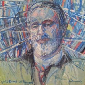 """""""The Publisher, Giulio Ricordi"""" 2013 cm 80 x 80 - Price: $ 26,000.00"""