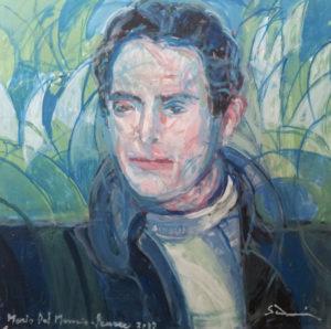 """Tenor, Mario Del Monaco"" 2013 cm 80 x 80 Price: $ 26,000.00"