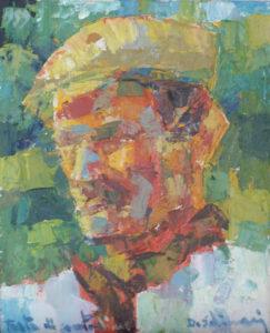 """""""Farmer"""" (Testa di Contadino) 1960 cm 33x27 - (Private Collection) - Price: $1,500,000.00"""