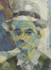 """My father"" 1960 - Oil's Spatula (Private Collection)"