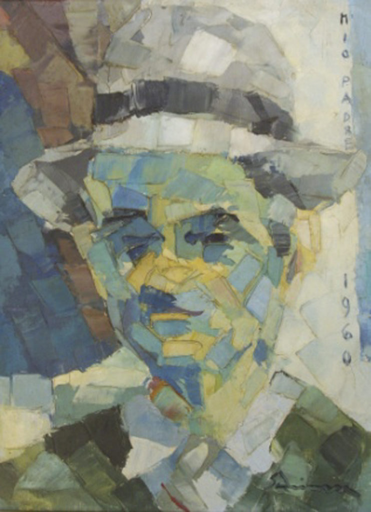 """My father"" 1960 - Oil's Spatula (Private Collection)"