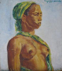 """Somali girl"" 1957 - (Private Collection) - Price: $ 3,200,000.00"