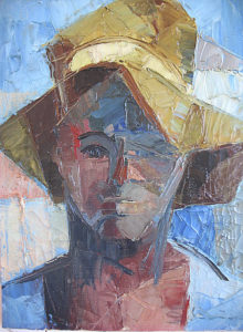"""""""African head"""" (Private Collection)"""
