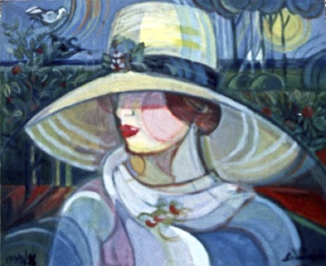 """Woman with hat"" 1996"