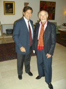 Schinasi and Maria Talo Italian Ambassador Israel 2013