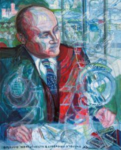 """Neofuturist's Tribute to Corradino D'ascanio"" 2011  cm 100 x 80 - Price: $30,000.00"
