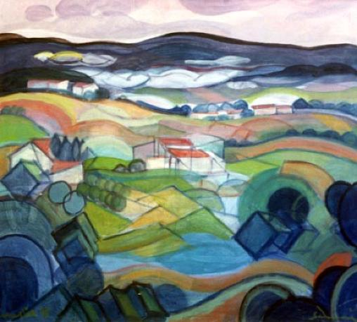 """Countryside"" 1995"