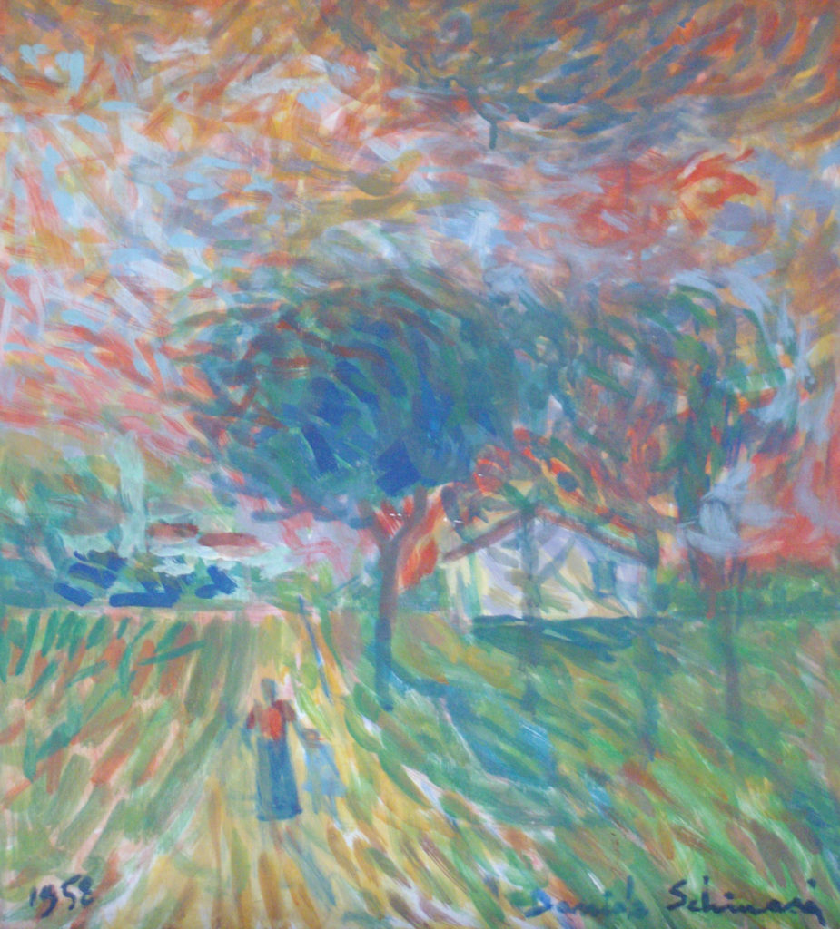 """Countryside"" 1958 (Private Collection)"