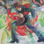 """Figure Skating"" cm 90x100, 1999 - Price: $ 27,000"