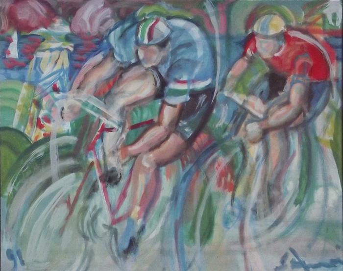 """Paris- Nice"" 1991 - cm 27×35 - $ 10,000"
