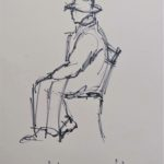 """Seated man"" 1959"
