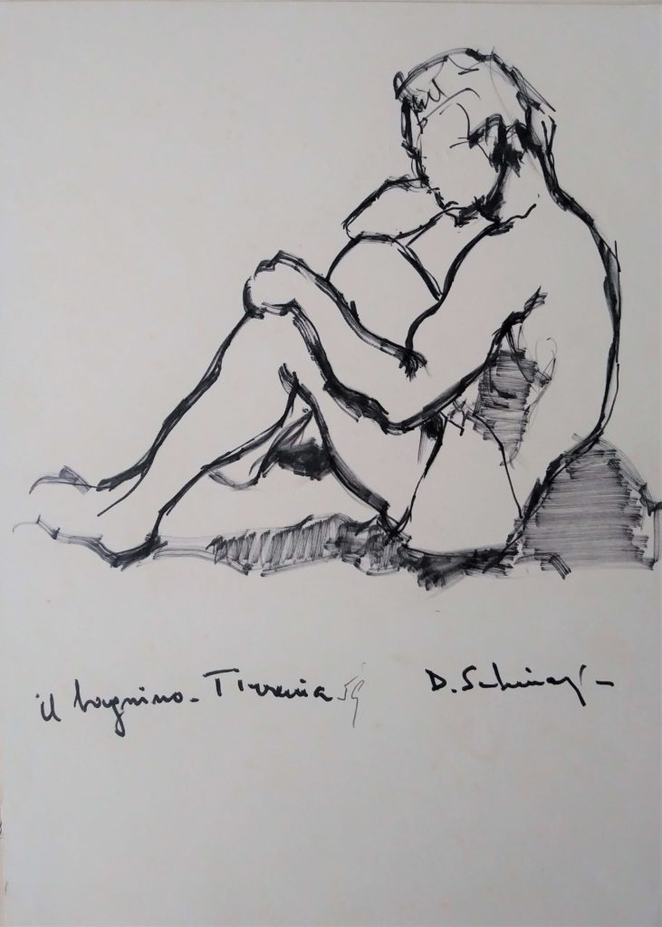 """The lifeguard in Tirrenia"" 1959"