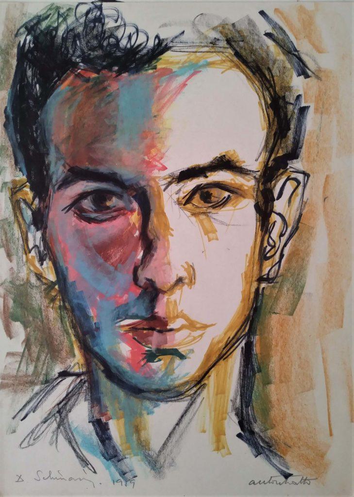 """""""Auto portrait"""" 1959"""