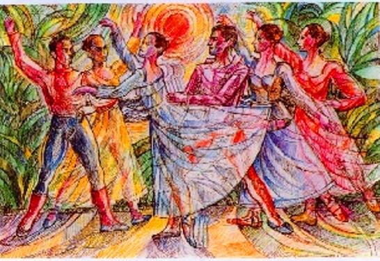 """Ballet de l'Opera de Nice"" – Tecnica Mista a Colori - 2018"