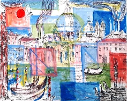 """""""Venezia"""" – Tecnica Mista a Colori"""