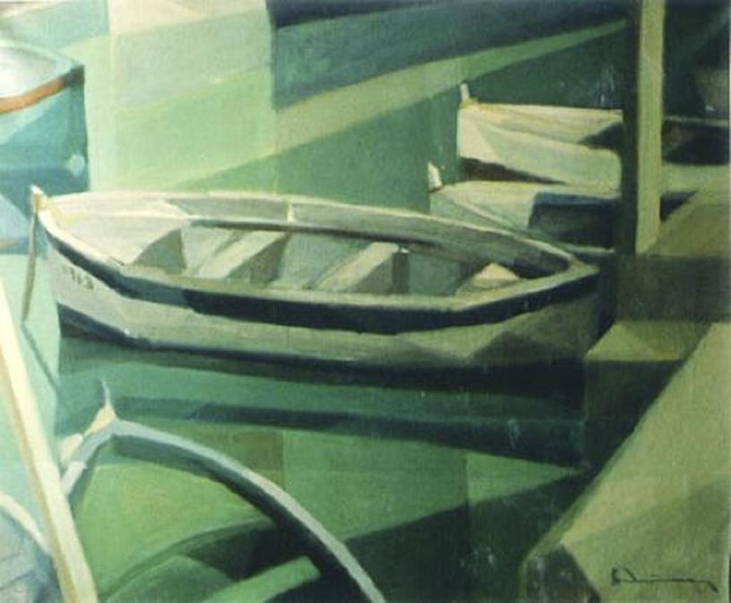 """""""Barche"""" 1962 - (Private Collection)"""