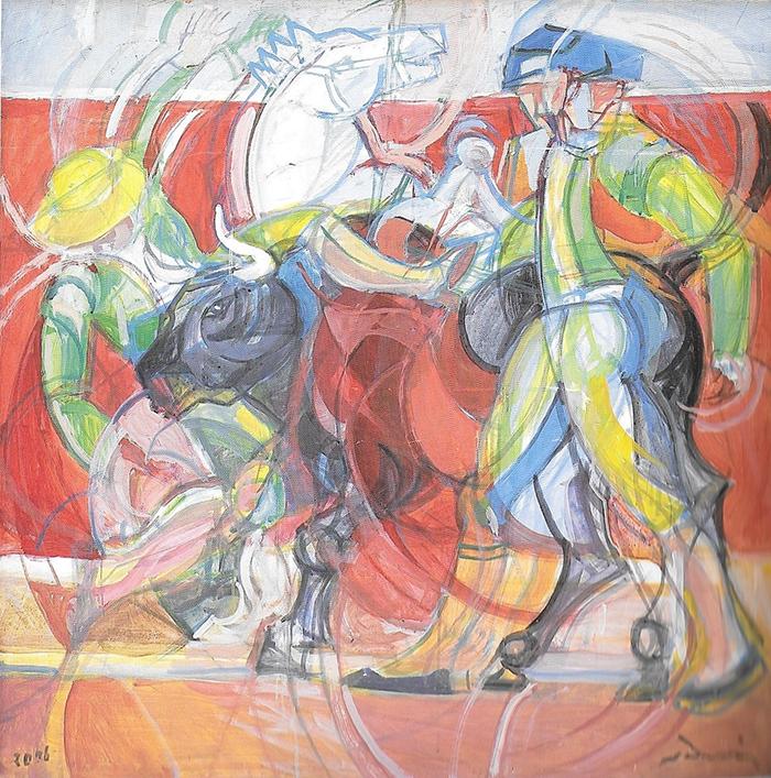 """""""Corrida"""" 2007 cm100x100"""